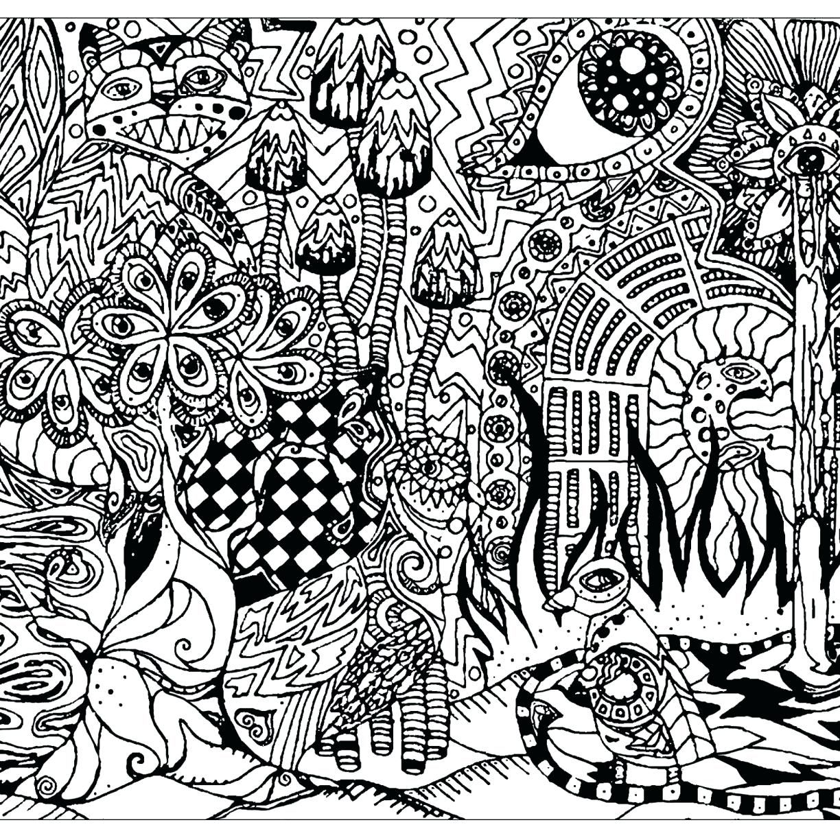Psychedelic Drawing At Getdrawings