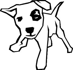 300x288 Dog Simple Drawing Clip Art