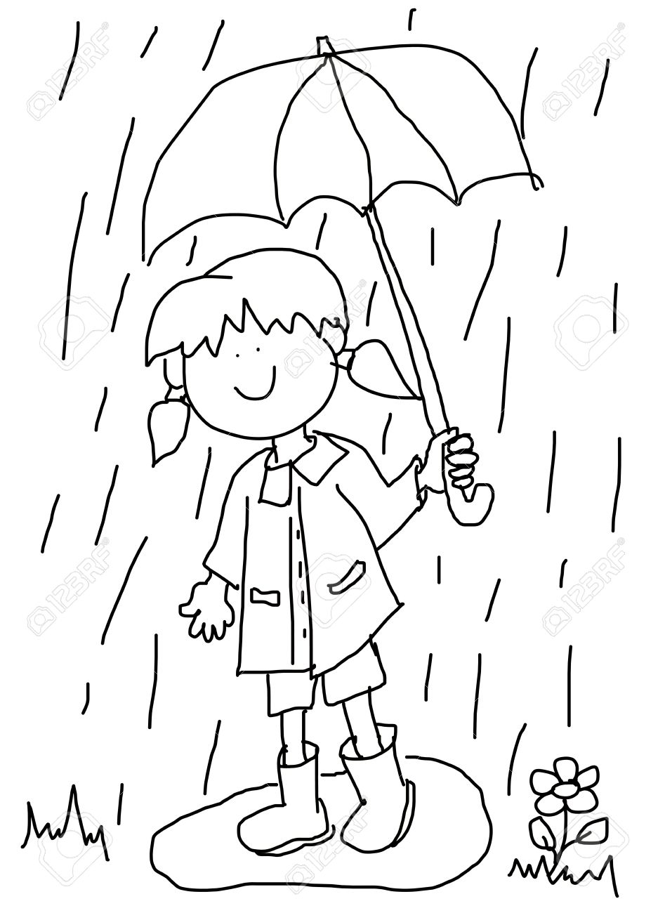 947x1300 Large Childlike Cartoon Character Little Girl With A Big Smile