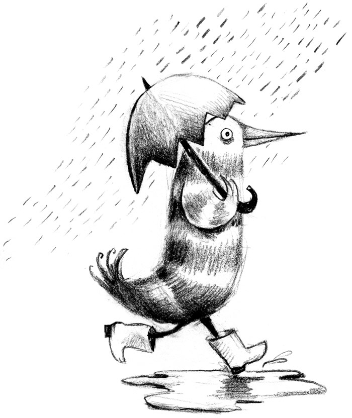 700x832 Maral Sassouni's Secret Blog) Il Pleut!