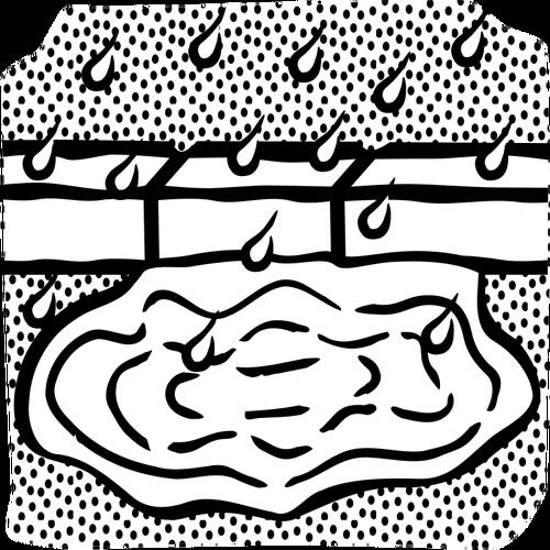 500x500 Puddle Drawing Public Domain Vectors