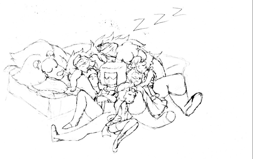 1024x646 Sketch Time Gem Cuddle Puddle By Sebriar