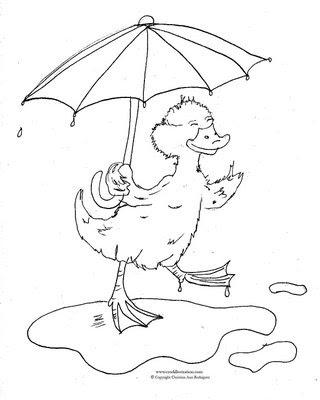 320x400 CRod Artblog Color Me Duck In Puddle