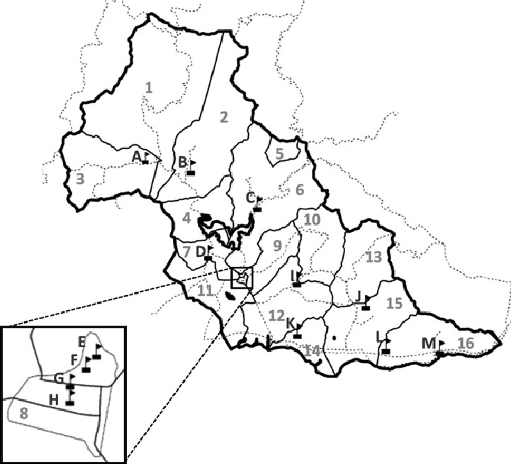 721x654 Map Of The Participating Schools And Neighborhoods Of Patillas