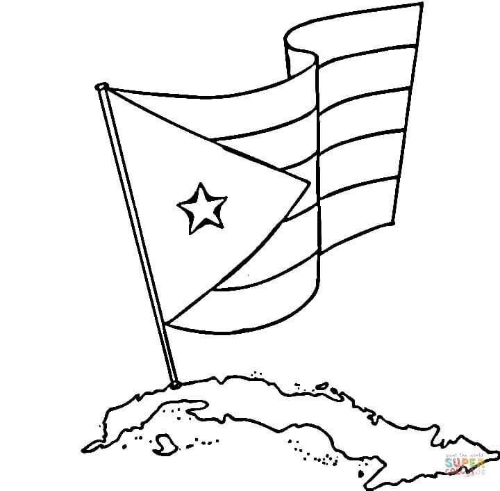 720x706 Cuba Coloring Page Free Printable Coloring Pages