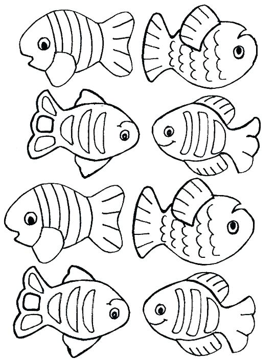 540x709 Printable Coloring Pages Fish Printable Fish Coloring Pages Fish