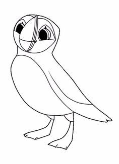 Puffin Drawing at GetDrawings | Free download