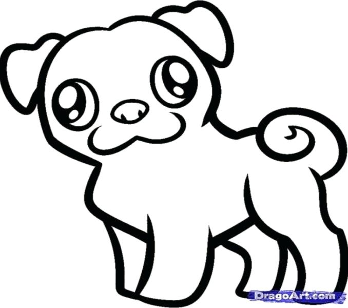 678x600 pug coloring pages pug pictures to color pug puppy colouring pages