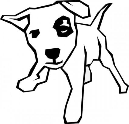 425x408 Drawn Pug Clip Art