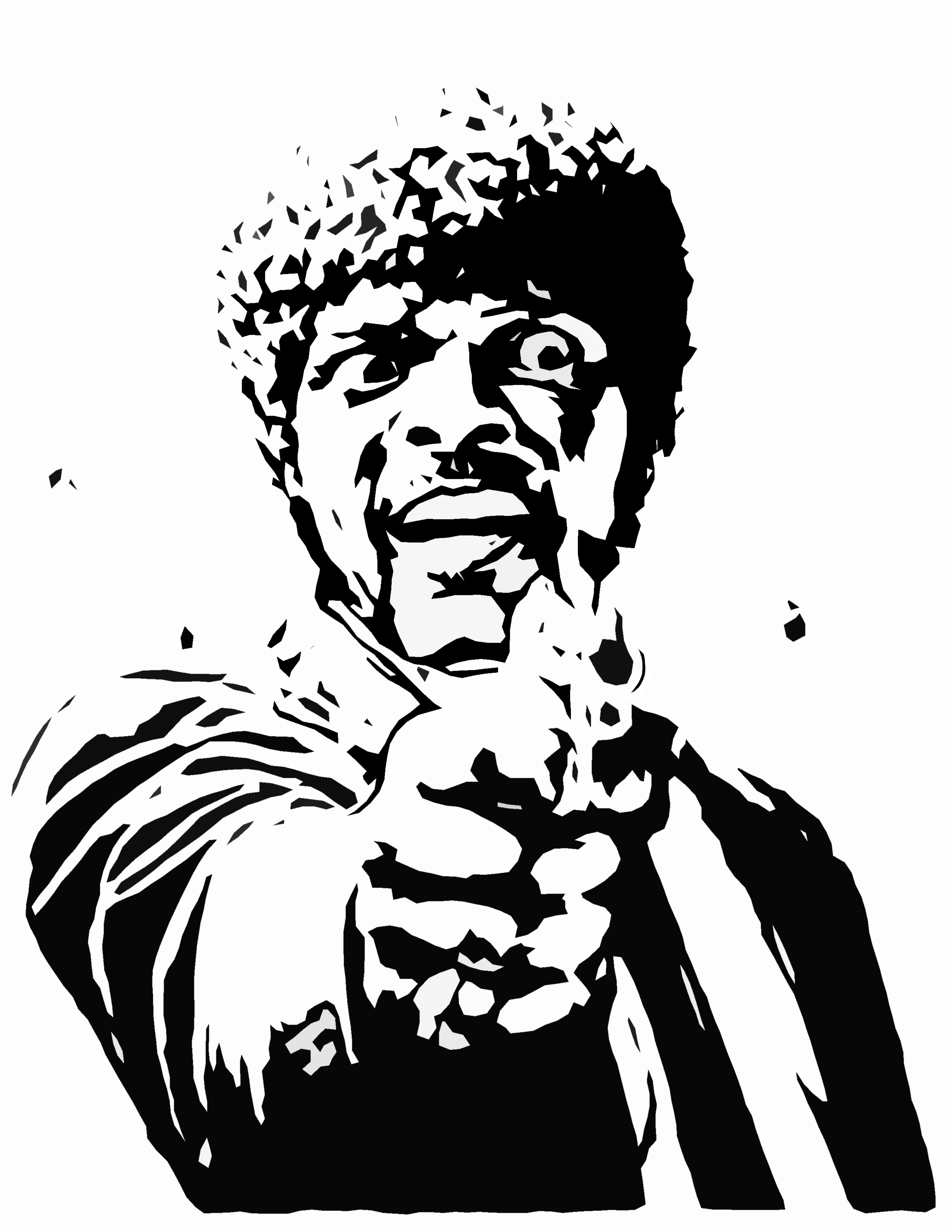 2550x3300 Pulp Fiction Drawing
