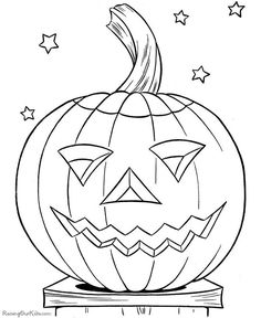236x288 Pumpkin Coloring Template Colouring In Kids Club Ullswater