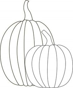236x287 A Simple Pumpkin Coloring Page In Jpg And Transparent Png Format