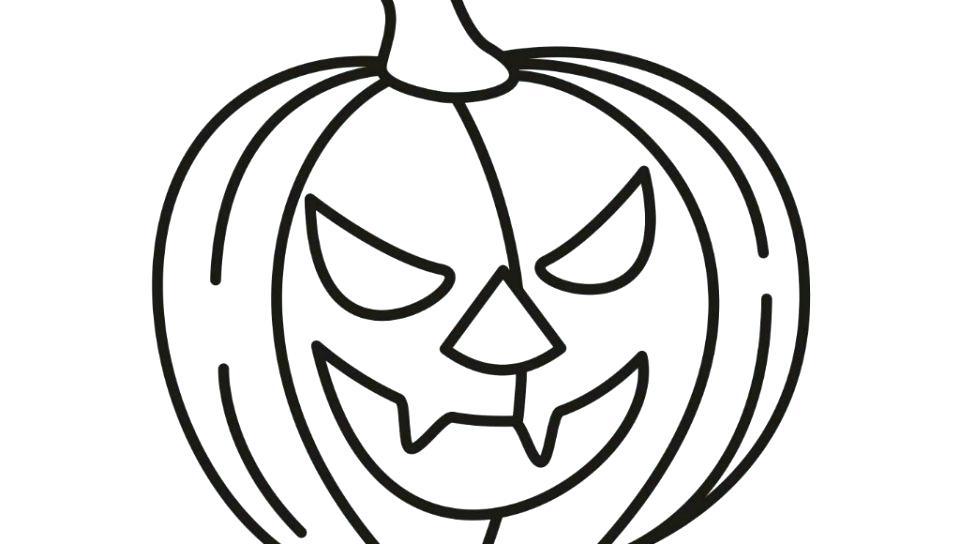 960x544 Coloring Page Of Pumpkin Coloring Page Pumpkin Pumpkins Coloring
