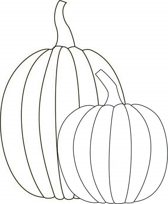 570x694 Pumpkins Scrapbooking Templates Embroidery, Craft