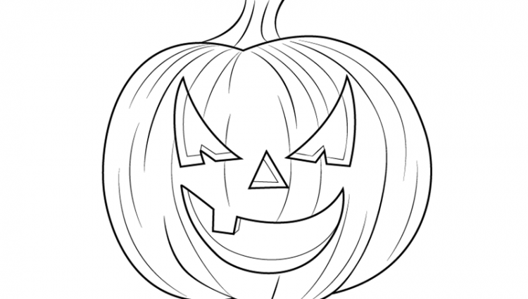 750x425 Drawing Halloween Pictures Learn How To Draw Halloween Pumpkin