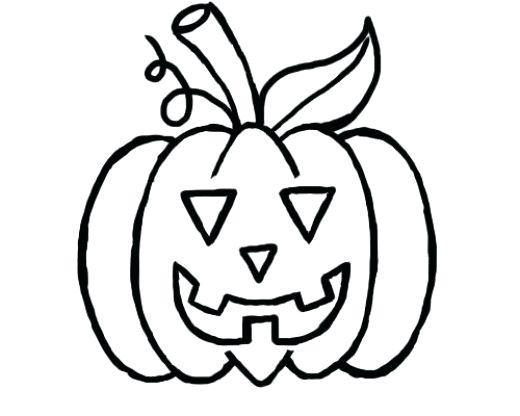 520x416 Pumpkin Drawing Halloween Pumpkin Outline Drawing Ladyroom.club