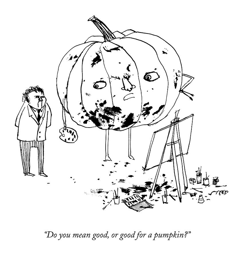 843x900 Pumpkins Drawings Fine Art America