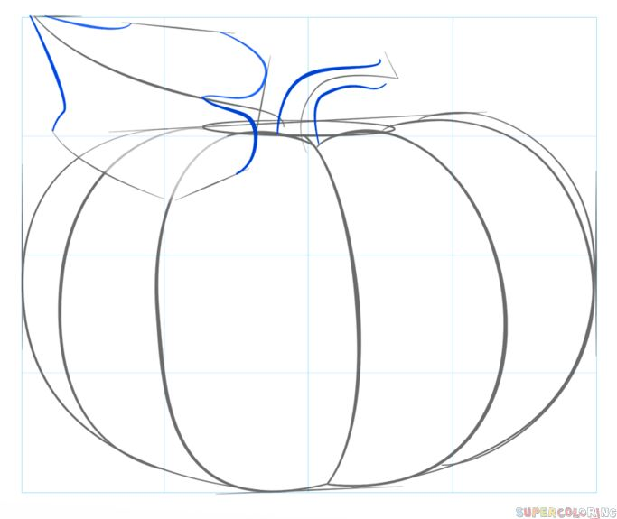 683x575 The Best Pumpkin Drawing Ideas On Fall Canvas, Diy