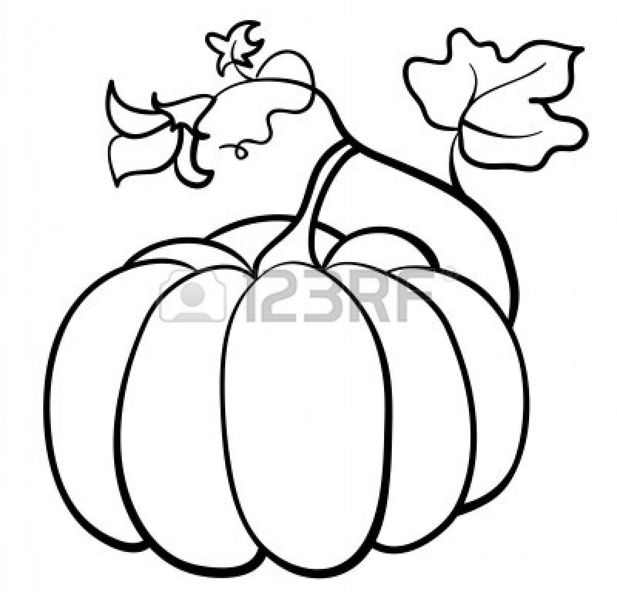 1200x1152 Drawn Pumpkin Kalabasa