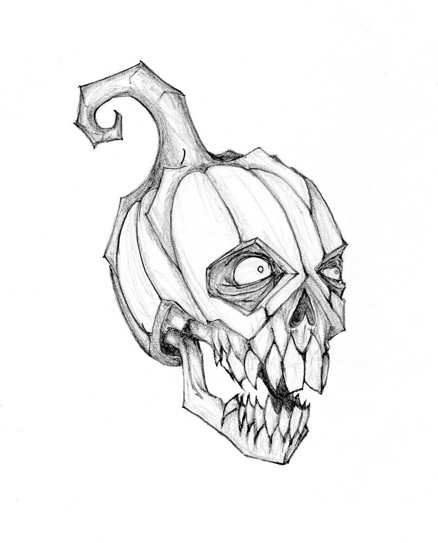 900x1116 Drawn Pumpkin Pumpkin Head