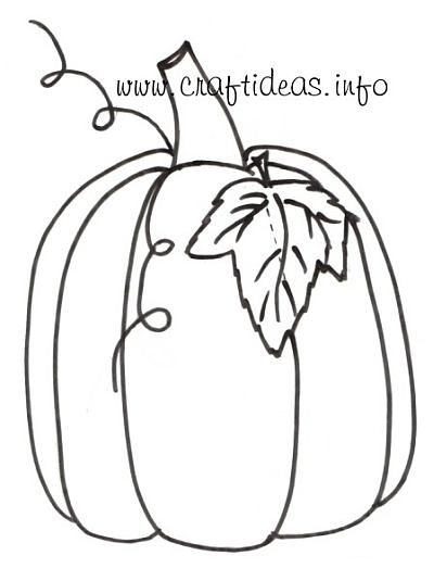 400x535 Free Craft Patterns And Templates For Fall