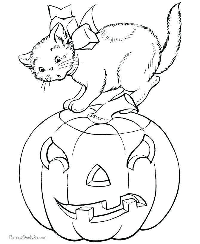 670x820 Halloween Themed Coloring Pages Printable Pumpkin Coloring Pages