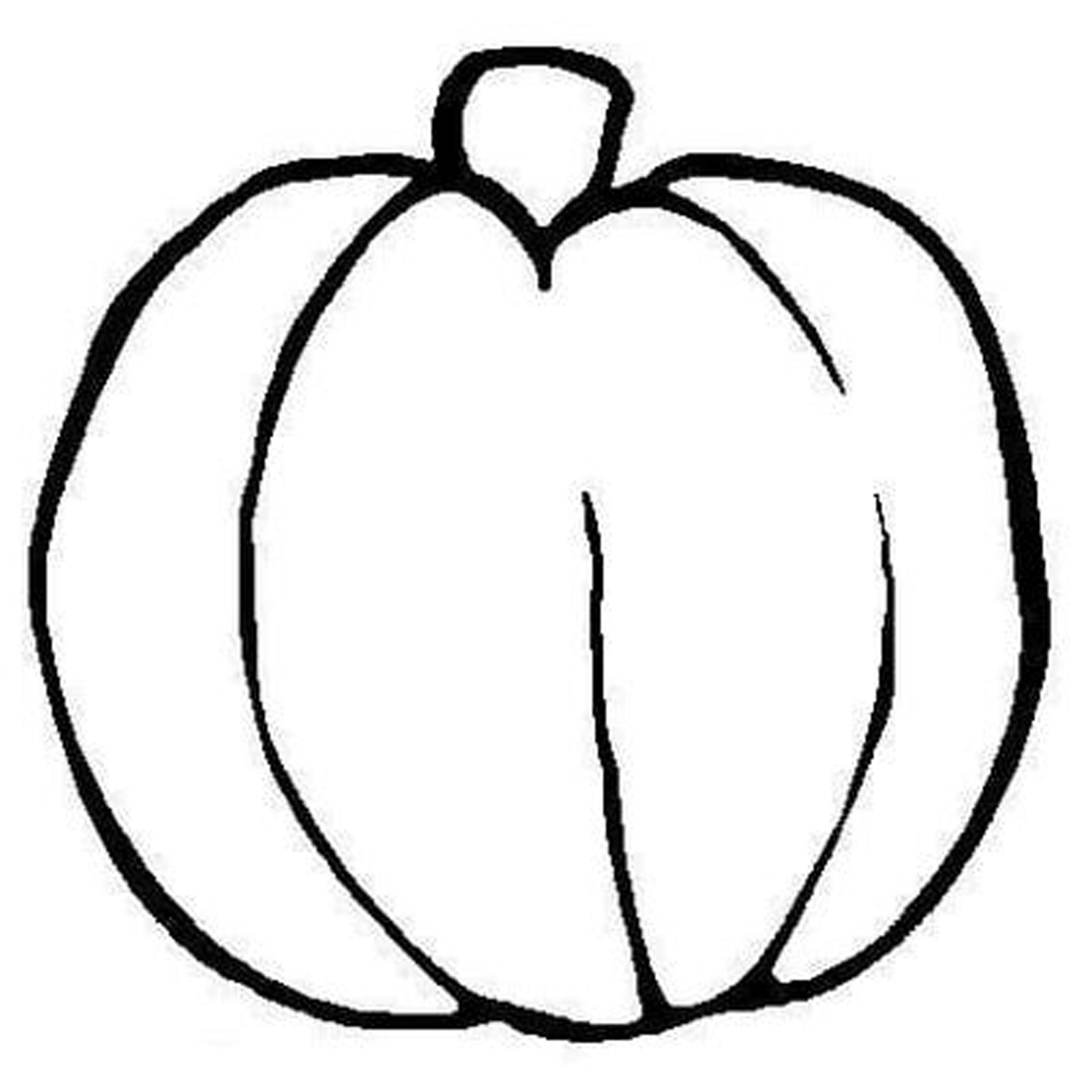 2550x2550 blank pumpkin template coloring page free download