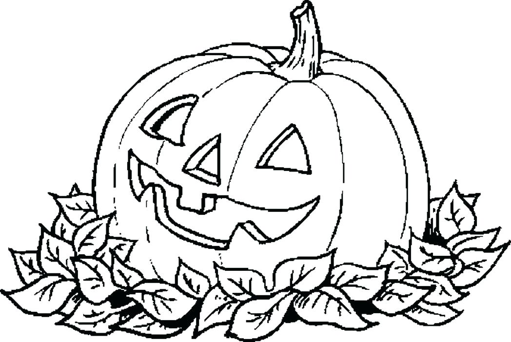 1048x702 Coloring A Pumpkin Coloring Pages Of A Pumpkin Pumpkin Carving