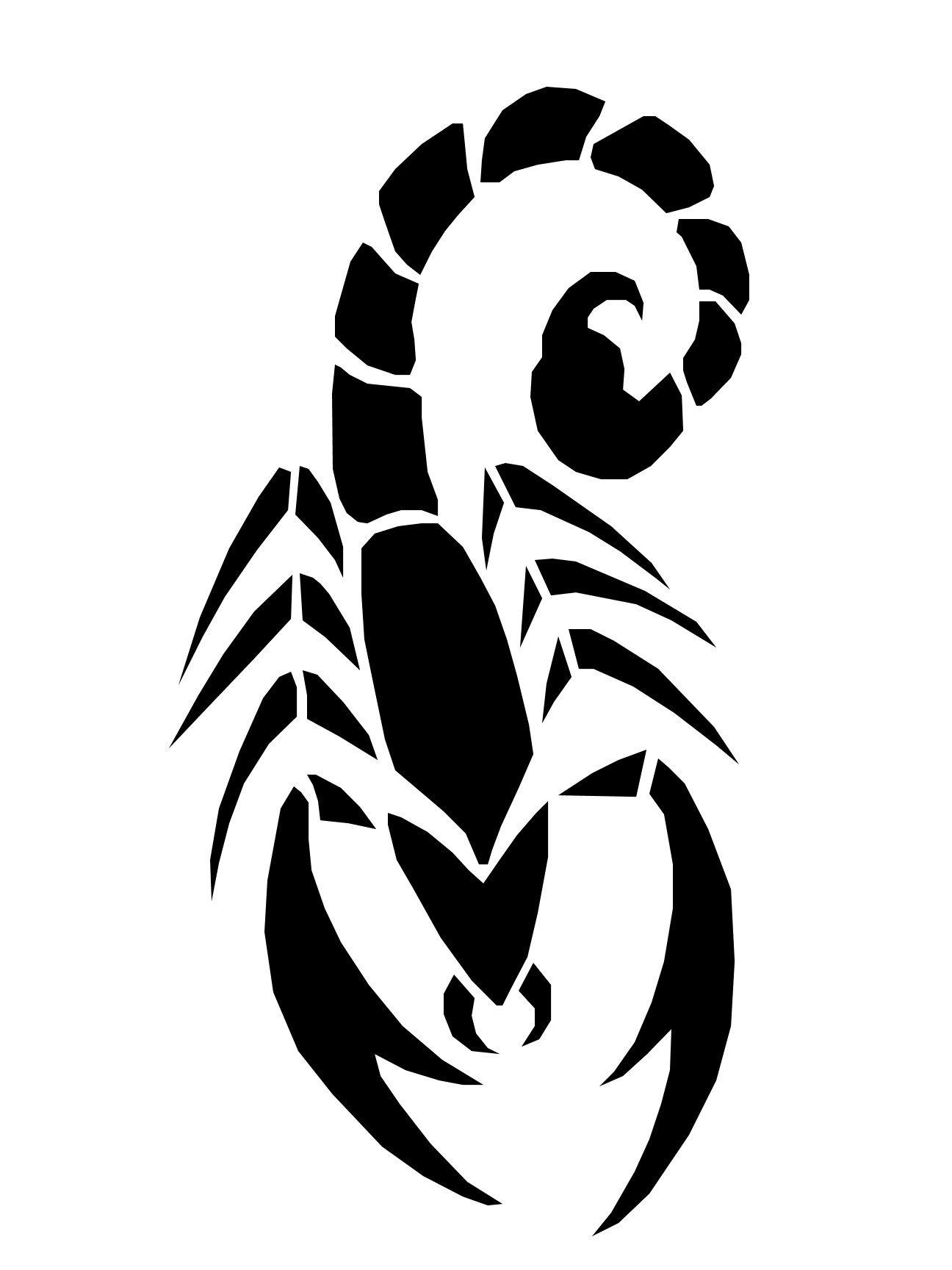 1296x1728 Scorpion Pattern By Pumpkin Crazy