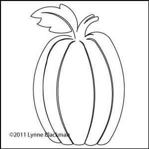 300x300 Lynne's Tall Pumpkin Lynne Blackman Digitized Quilting Designs