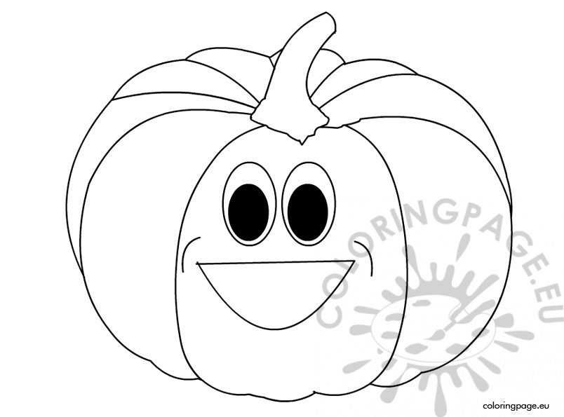 804x595 Halloween Pumpkin Face Template Coloring Page