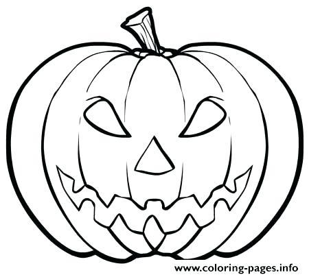 450x404 Pumpkin Faces Coloring Pages Pumpkin Coloring Pages Free
