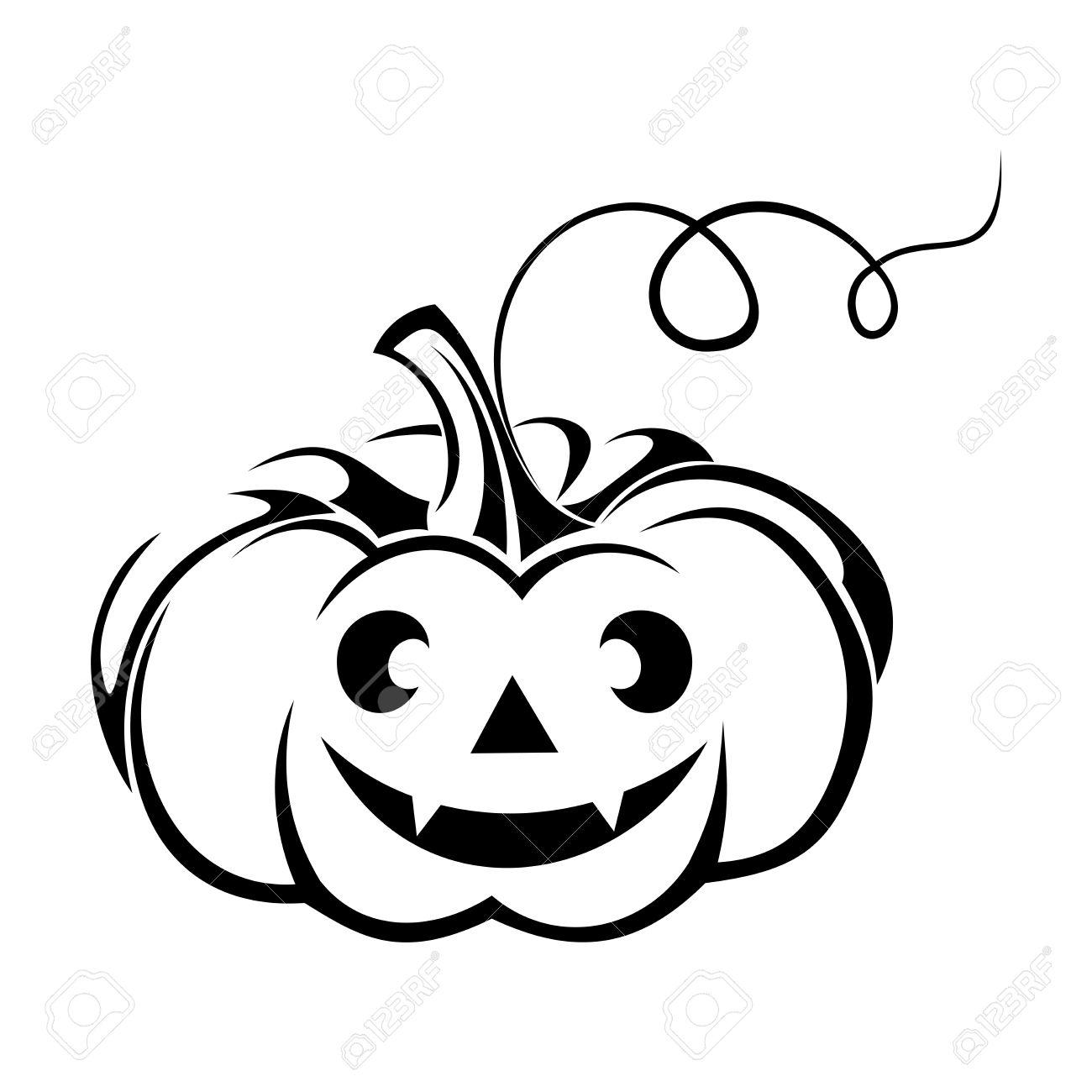 1300x1300 Drawn Pumpkin Jack Fruit