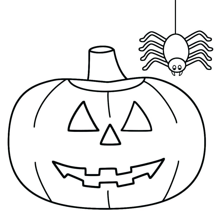 Pumpkin Faces Drawing