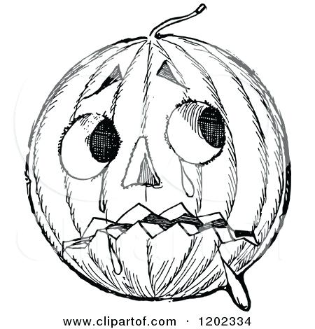 450x470 Pumpkin Drawing Drawing Pumpkin Faces Drawing Factory On Scary
