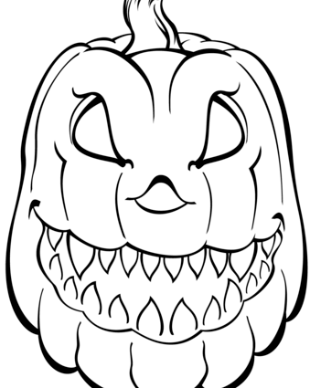 Pumpkin Faces Drawing at GetDrawings.com | Free for personal use ...
