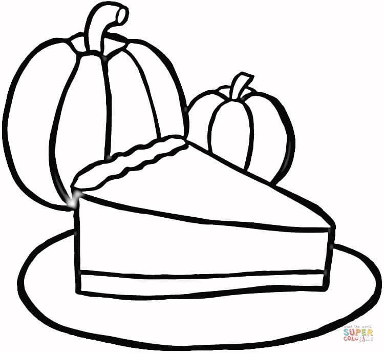 750x689 Drawn Pie Pumpkin Pie