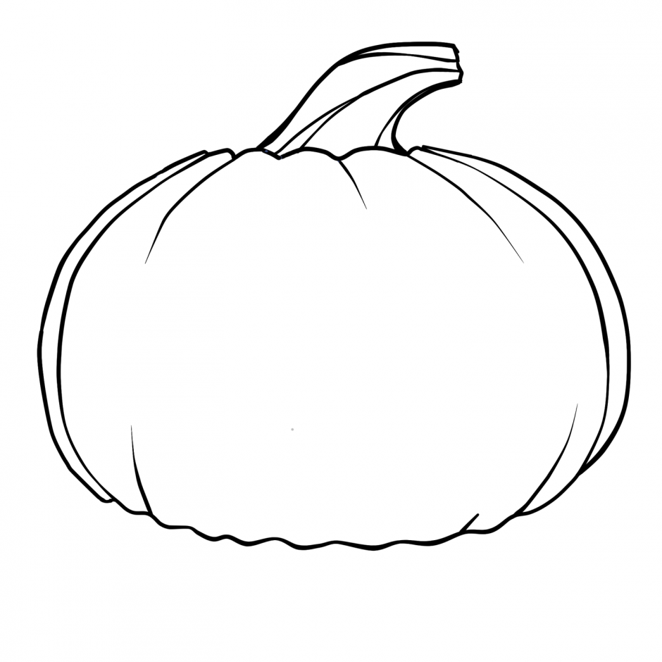 Pumpkin Line Drawing at GetDrawings.com | Free for personal use ...