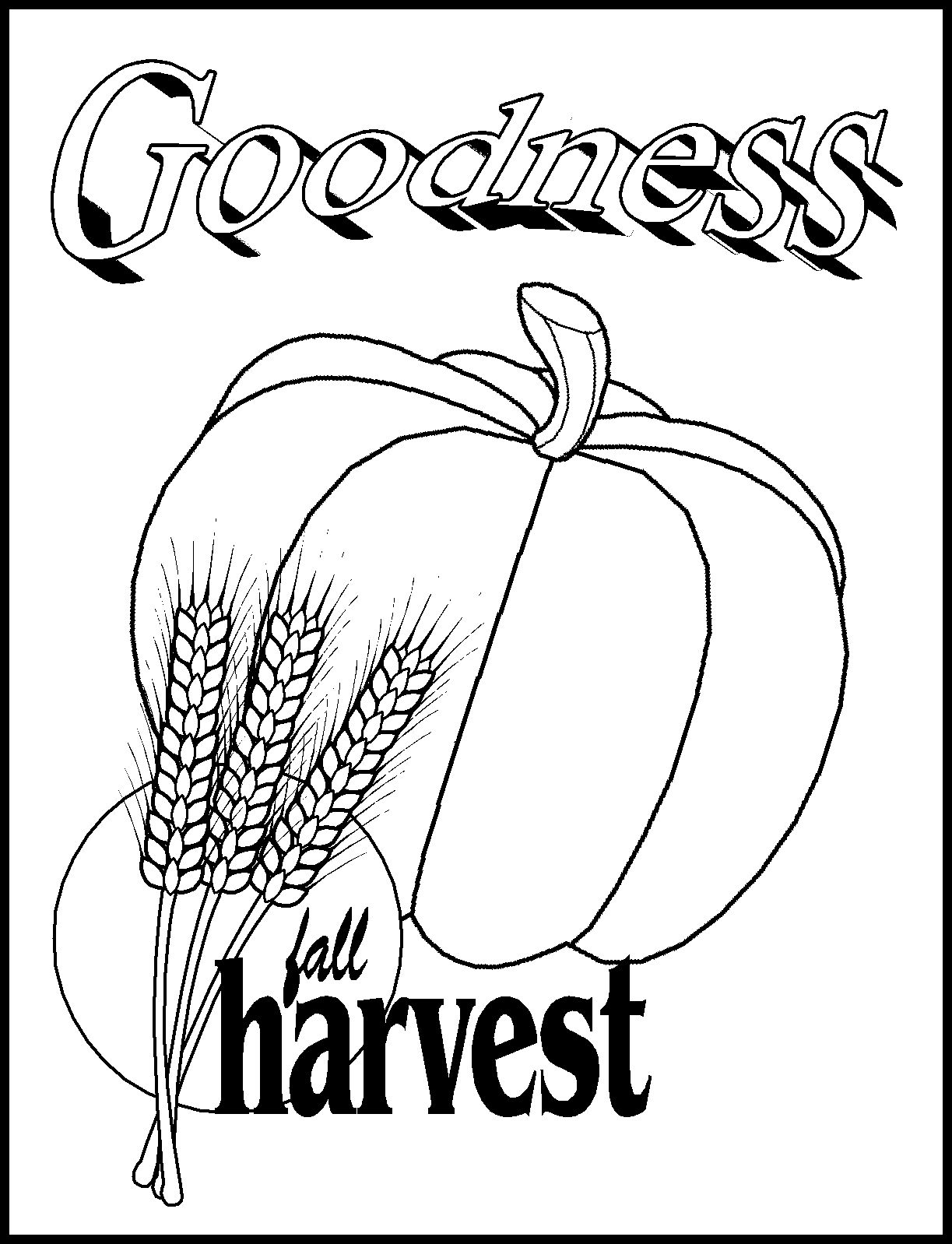 Pumpkin Patch Drawing at GetDrawings.com | Free for personal use ...