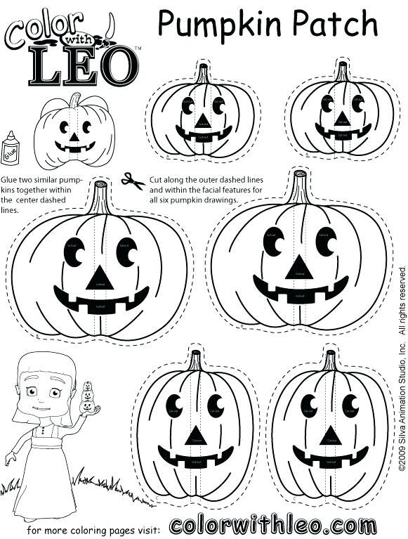 581x767 Pumpkin Patch Coloring Page Pages Free Printable