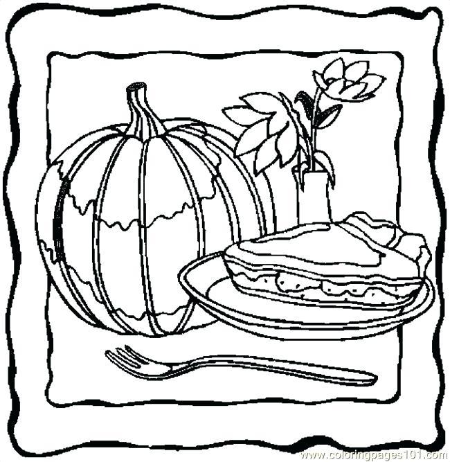 650x667 Pumpkin Pie Coloring Page Pumpkin Pie Coloring Page Coloring Home