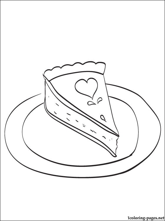 560x750 Pumpkin Pie Traditional Thanksgiving Dessert Coloring Pages