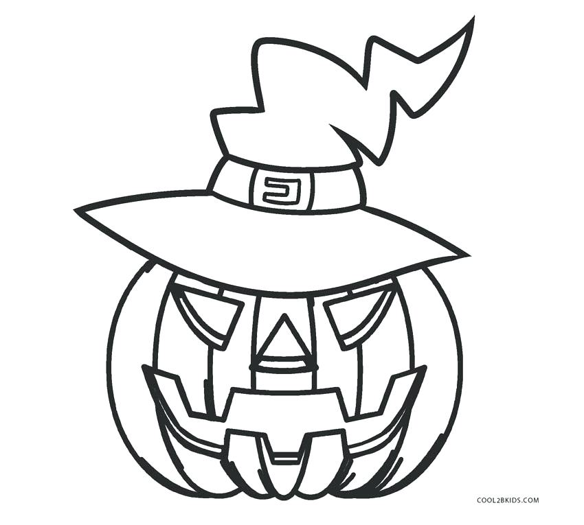 850x765 Coloring Pumpkin Pumpkin Coloring Pages For Kids Coloring Pumpkin