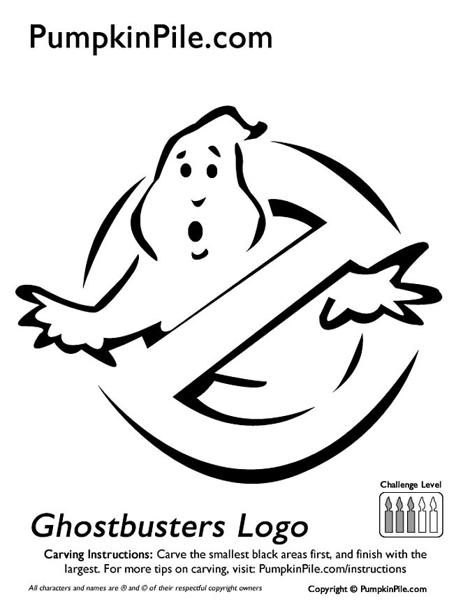 673x871 28 images of ghostbusters ghost template - Coloring Pumpkin Templates 2
