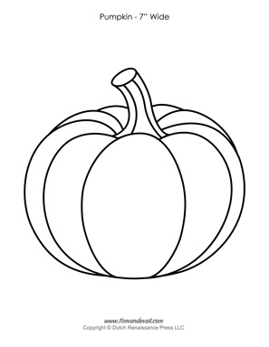 graphic relating to Printable Pumpkin Templates named Pumpkin Template Drawing at  Cost-free for