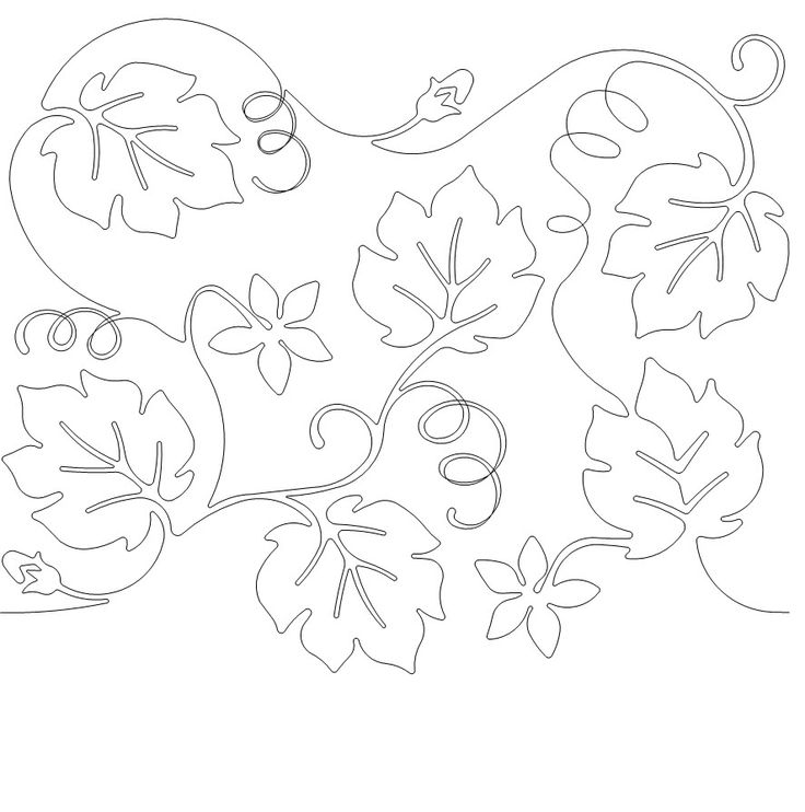 pumpkin and leaves coloring pages - photo#42