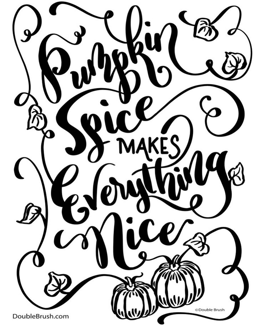 Pumpkin Vine Drawing at GetDrawings.com | Free for personal use ...