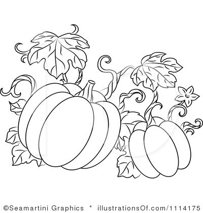 400x420 royalty free rf pumpkins clipart illustration by seamartini