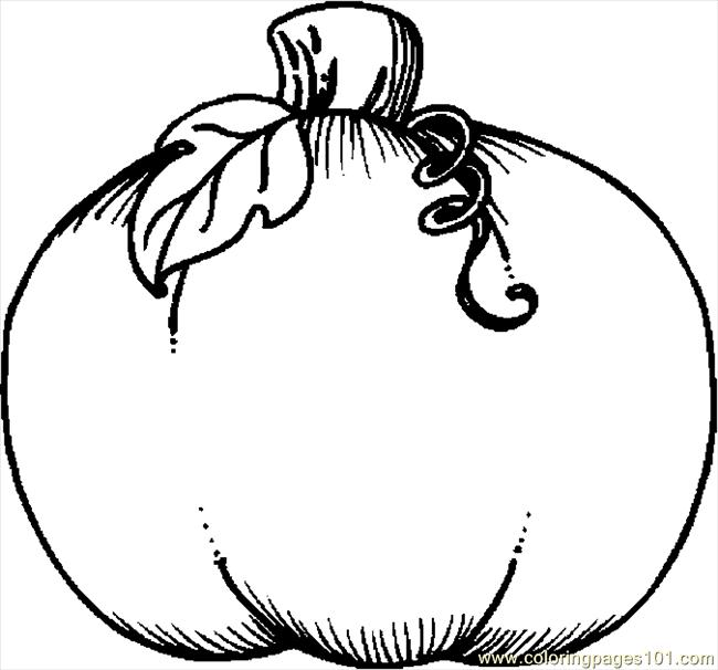 650x606 Coloring Pages Pumpkin For Kids