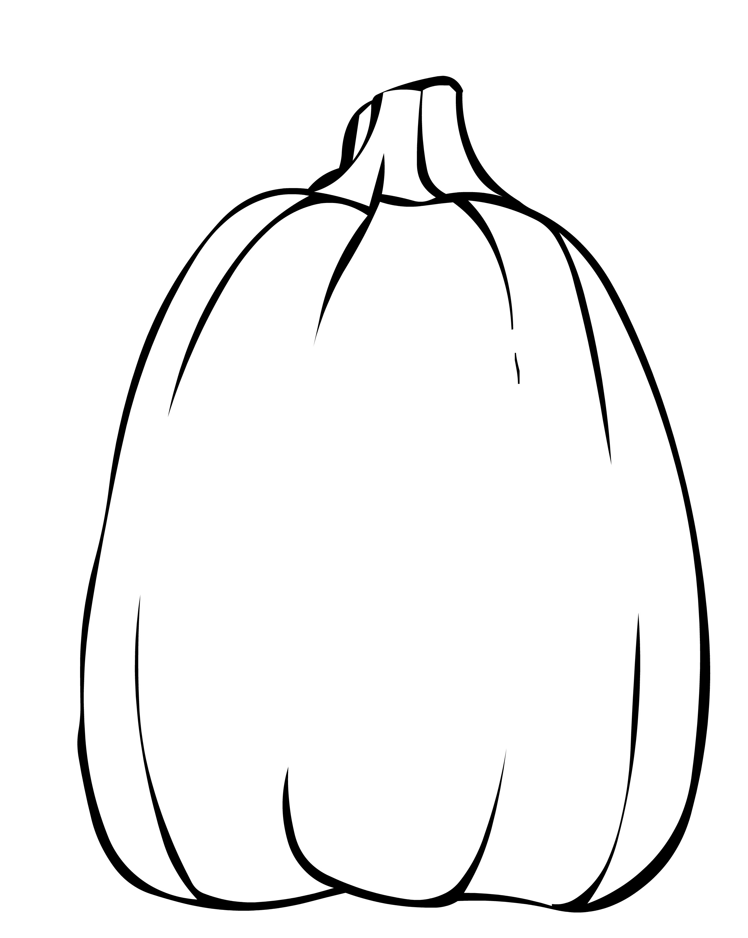2550x3198 Printable Pumpkin Coloring Pages Me